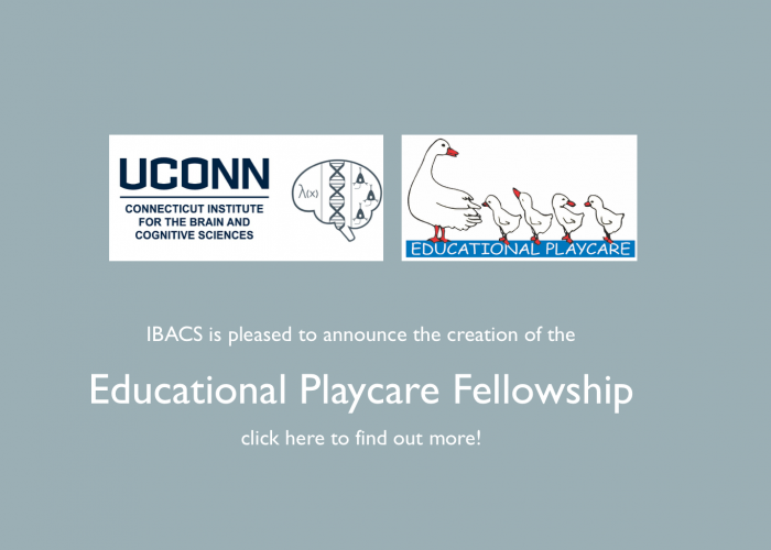 Photo Announcing Educational Playcare Fellowship